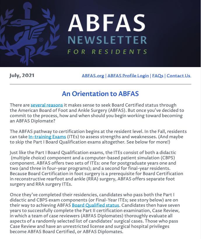 July 2021 Resident Newsletter thumbnail